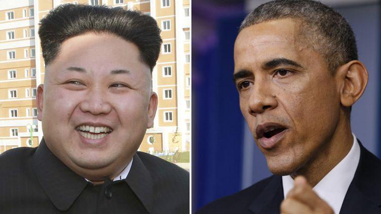 (Que peut faire Barack Obama face à Kim Jong-Un?  © REUTERS `| Kevin Lamarque - KCNA)