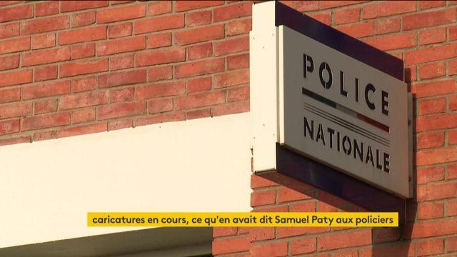 Caricatures : ce qu'a dit l'enseignant décapité dans les Yvelines aux policiers