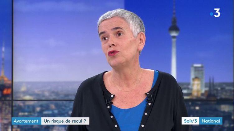Nathalie Bajos, de l'Inserm (France 3)