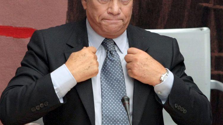 L'homme d'affaires Bernard Tapie, le 10 septembre 2008 à Paris. (JACQUES DEMARTHON / AFP)
