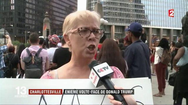 Charlottesville : énième volte-face de Donald Trump