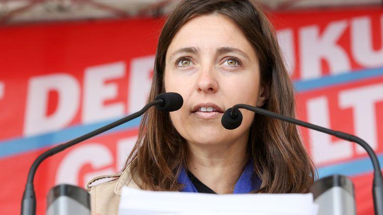 Sophie Binet, co-secrétaire générale de l'UGICT-CGT. (BODO MARKS / DPA)