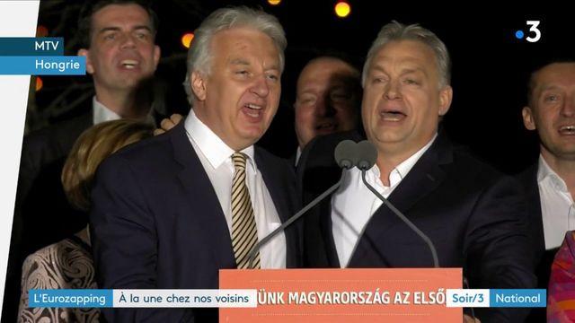 Eurozapping : Orban reste à la tête de la Hongrie, un cycliste belge meurt sur le Paris-Roubaix