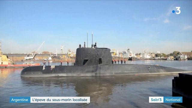 Argentine : l'épave du sous-marin localisée