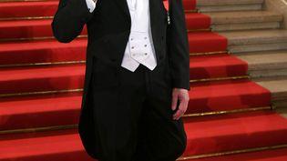 Le Français Dominique Meyer à l'Opéra de Vienne (Autriche), dont il était alors le directeur, le 28 février 2019. (HELMUT FOHRINGER / APA-PICTUREDESK / AFP)