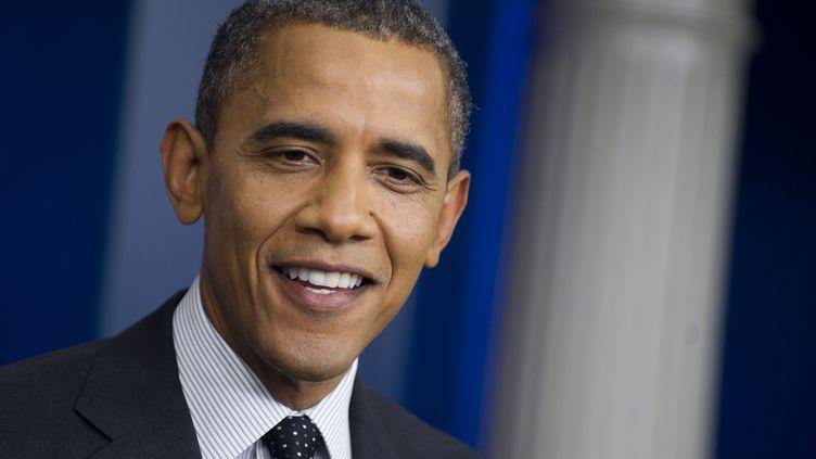 Barack Obama, le 20 août 2012 à la Maison Blanche. (SAUL LOEB / AFP)
