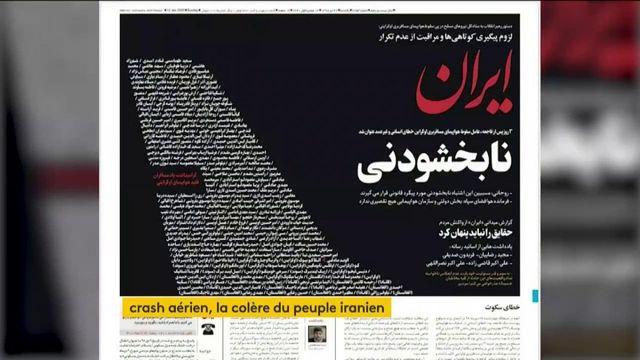 Crash du Boeing : la colère monte en Iran