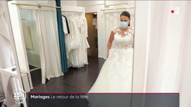 Mariages : la fête bat de nouveau son plein avec l'assouplissement des restrictions sanitaires