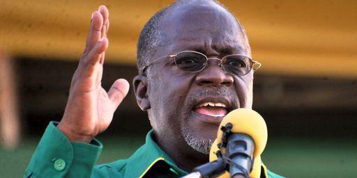 John Magufuli pendant un rassemblement électoral en octobre 2015 à Dar es Salaam, la plus importante ville de Tanzanie. (REUTERS - Sadi Said)
