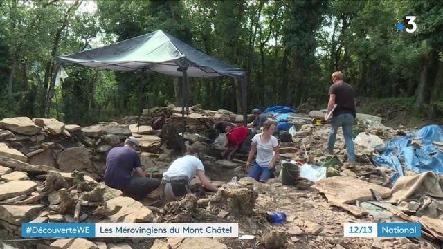 Ain : le Mérovingien livre ses secrets au Mont Châtel