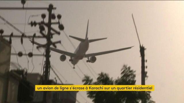 Pakistan : un Airbus s'écrase sur un quartier de Karachi