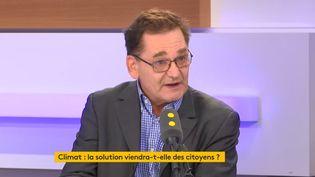 L'économiste Christian de Perthuis, invité de franceinfo le 28 octobre 2019. (FRANCEINFO)