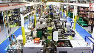 """""""Envoyé spécial"""". Plus d'ouvriers dans cette usine automobile américaine, mais des robots français (FRANCE 2 / FRANCETV INFO)"""