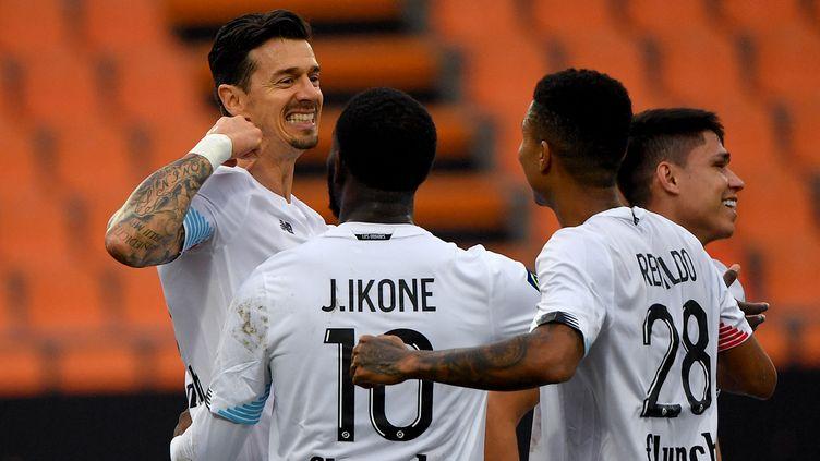 José Fonte a marqué avec le LOSC face à Lorient (LOIC VENANCE / AFP)
