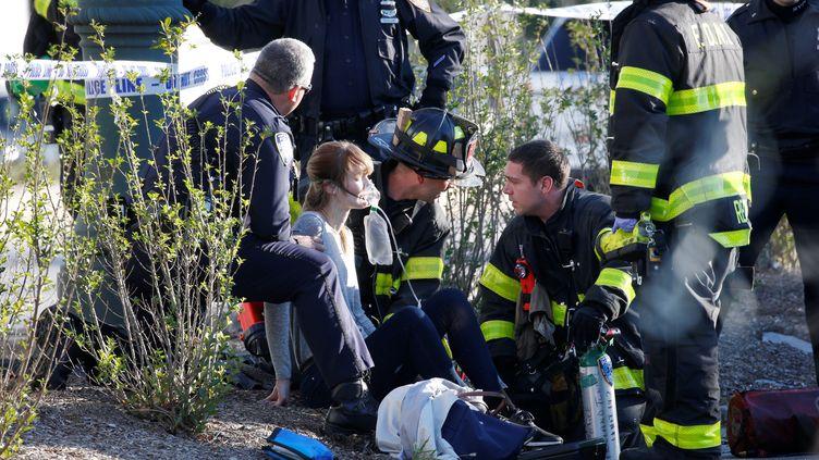 """L'attaque a également fait onze blessés hospitalisés dans un état """"sérieux"""", mais pas critique. (BRENDAN MCDERMID / REUTERS)"""