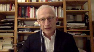 Le journaliste Luc de Barochez (FRANCEINFO)