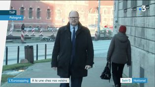 Le maire de Gdansk (Pologne) (France 3)