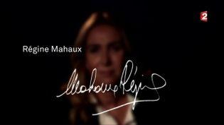 Régine Mahaux (CAPTURE ECRAN FRANCE 2)