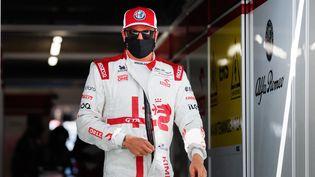 Le Finlandais Kimi Räikkönen (Alfa Romeo), a été testé positif au Covid-19 avant le Grand Prix des Pays-Bas la semaine dernière. (ANTONIN VINCENT / DPPI / AFP)