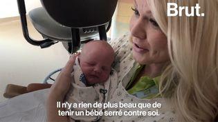 VIDEO. Le câlin, un remède pour le bien-être des nouveau-nés prématurés (BRUT)