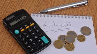 Une calculatrice pour compter ses droits à la retraite, le 17 janvier 2020. (MAXPPP)