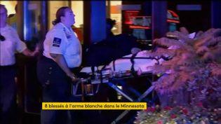 """Un homme faisant """"des références à Allah"""" a blessé huit personnes samedi17 septembre à l'arme blanche, dans un centre commercial de l'Etat du Minnesota (Etats-Unis). (FRANCEINFO)"""