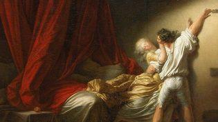 """L'oeuvre """"Le Verrou"""" de Fragonard présentée au Louvre-Lens dans le cadre de l'exposition """"Amour"""". Viol ou scène de passion, le débat est lancé.  (Musée du Louvre, dist. RMN-GP / Angèle Dequier)"""
