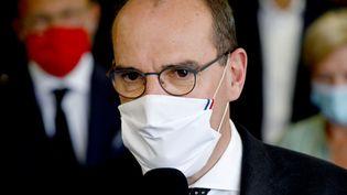 Le Premier ministre Jean Castex, le 8 septembre 2020dans le sud-ouest de la France. (MEHDI FEDOUACH / AFP)