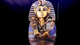 """Pièce de l'exposition""""Toutânkhamon, le Trésor du Pharaon"""". (J-M EMPORTES / ONLY FRANCE)"""