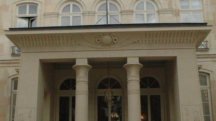 L'ambassade d'Allemagne, rue de Lille à Paris, le 19 juillet 2005. (MAXPPP)