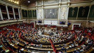 L'hémicycle de l'Assemblée nationale, le 14 novembre 2018. (MAXPPP)