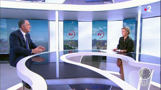 """Attaque à la préfecture de police : """"se radicaliser, c'est attaquer la République"""", estime Didier Guillaume."""
