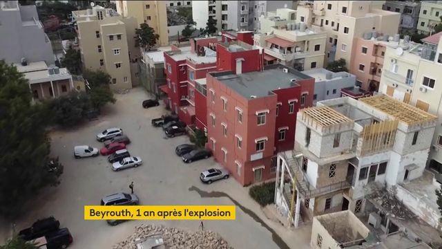 Liban : Beyrouth se relève peu à peu, un an après la terrible explosion