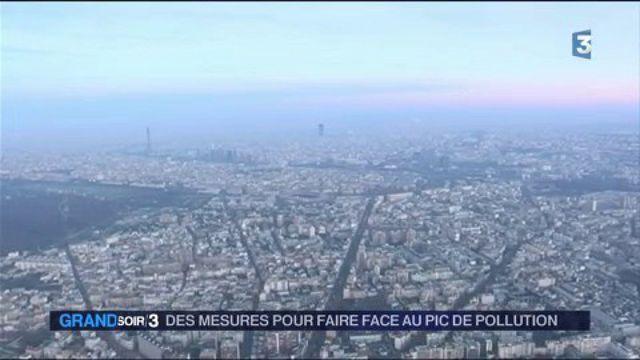 Paris : circulation alternée pour cause de pollution