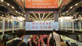 L'entré du Marche du Film au Festival de Cannes en 2019. (BOESL / DPA)