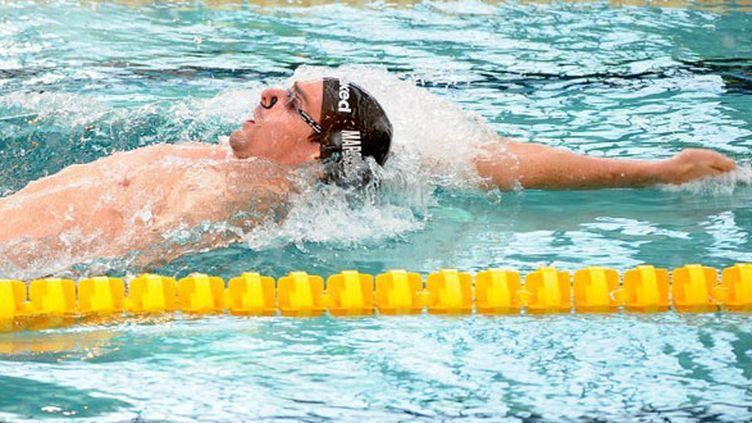 Le nageur français Camille Lacourt
