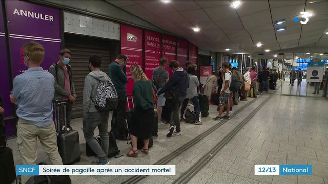 SNCF : trafic interrompu après un accident tragique