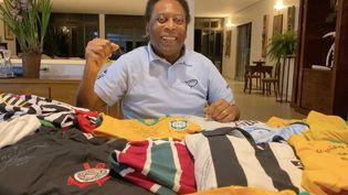 La légende Pelé est sorti de l'hôpital jeudi 30 septembre. (D.R)