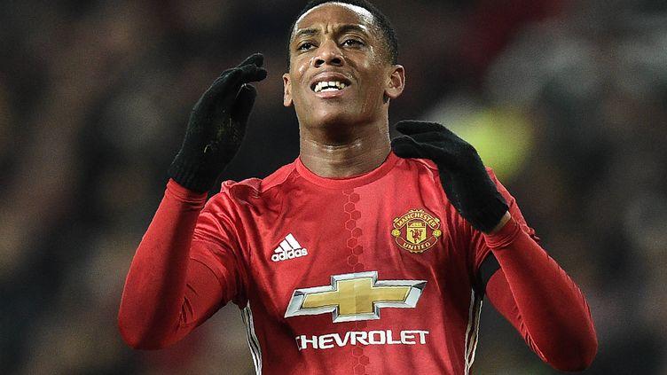 Le joueur de Manchester United, Anthony Martial
