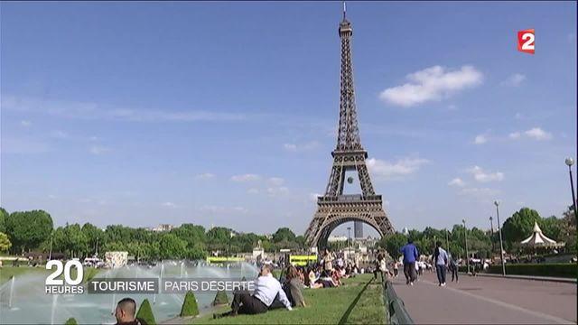 Tourisme : Paris désertée