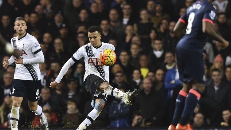 Dele Alli, le jeune milieu de terrain de Tottenham.  (BEN STANSALL / AFP)