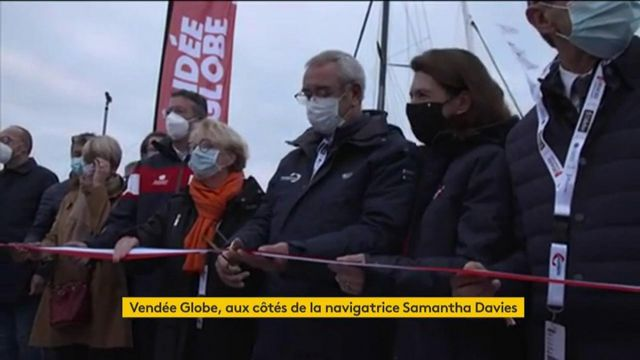 Vendée Globe : Samantha Davies affiche ses ambitions et sa motivation