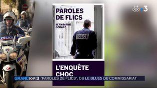 La couverture du livre Paroles de flics (France 3)