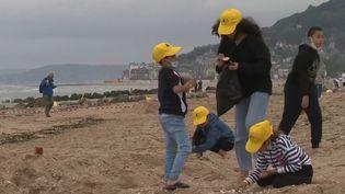 Normandie : les oubliés des vacances retrouvent le sourire le temps d'une journée à la mer (France 3)