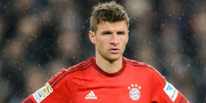 Le joueur allemand, Thomas Muller