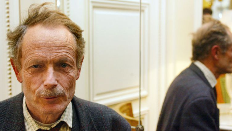 L'écrivain italien Erri de Lucca en 2002.  (Martin Bureau / AFP)