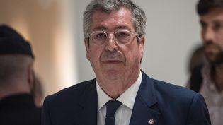 Patrick Balkany, le 13 mars 2019 au tribunal de Paris. (STRINGER / AFP)