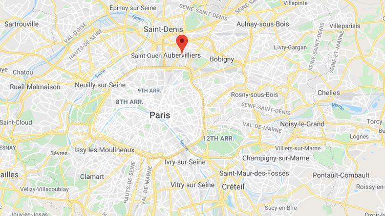 Aubervilliers (Seine-Saint-Denis). (GOOGLE MAPS)