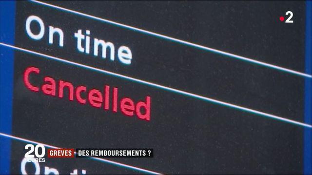 Grève à la SNCF : comment fonctionne le remboursement ?