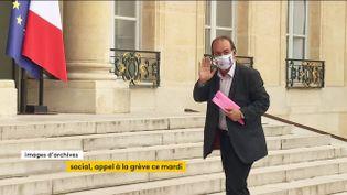 Grève du 5 octobre : une mobilisation intersyndicale pour remettre les questions sociales au cœur du débat (FRANCEINFO)